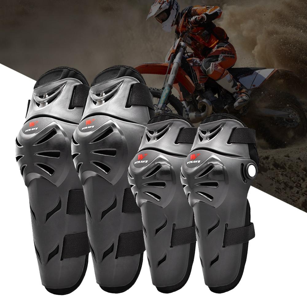Motorcycle Knee Pad Protective Gear Knee Protector Elbow Pad Men Motorbike Gear Knee Guards Motocross Racing Safety Gears