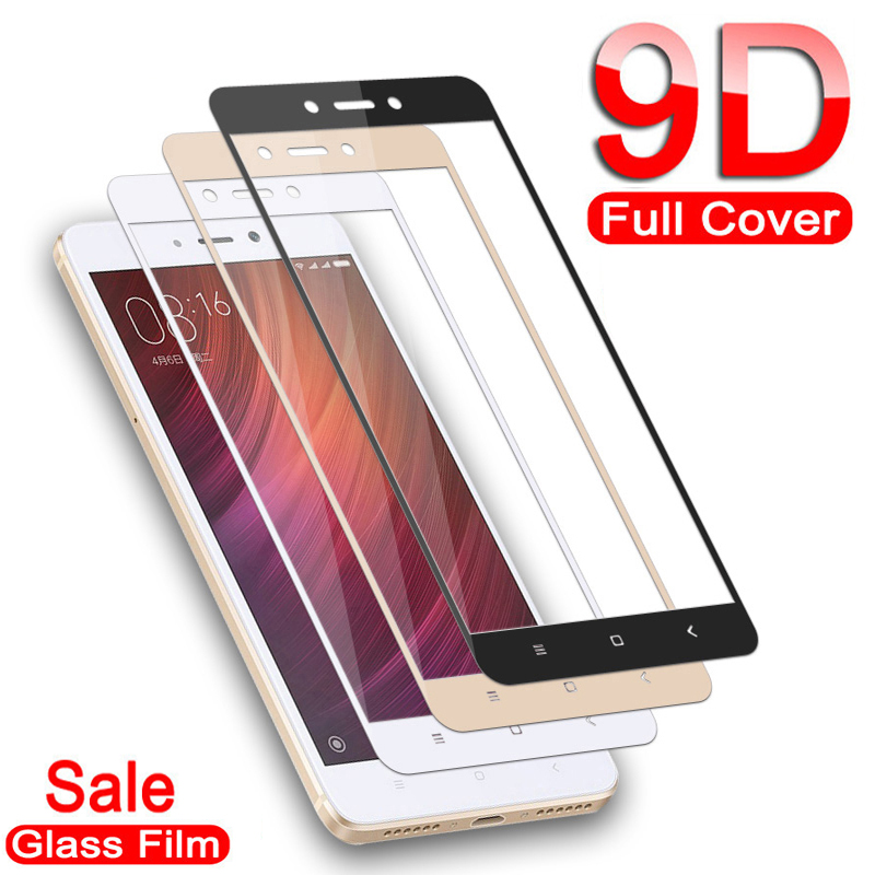9D Protective Glass For Xiaomi Redmi Note 5 4 4X Global Screen Protector For Redmi 5 Plus GO S2 5A 6A 6 Pro Tempered Glass Film