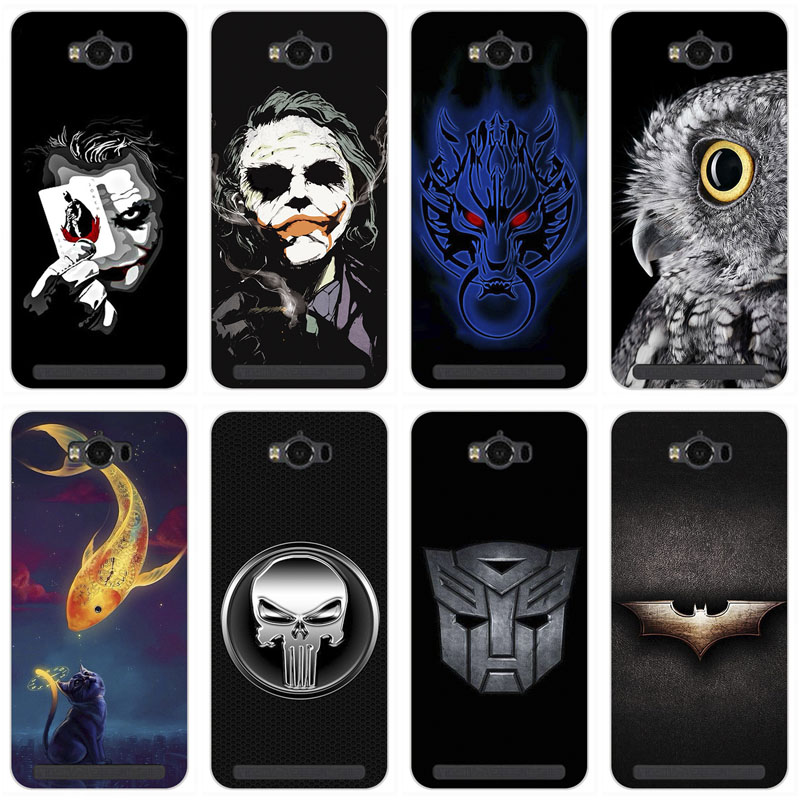 Colorful Cell Phone Covers Case for <font><b>Asus</b></font> Zenfone MAX ZC550KL <font><b>ASUS</b></font>_<font><b>Z010DD</b></font> <font><b>Z010DD</b></font> Z010DA Soft TPU Cases Printed Back Cover Capa image