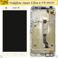 100% Tested OK For Vodafone Smart Ultra 6 VF 995N VF995N VF995 LCD Display Touch Screen Digitizer With / Without Frame Assembly