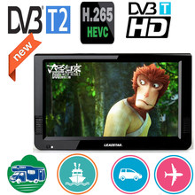 Leadstar 10 Inch DVBT/DVBT2&Analog Portable Mini Tv Support H265/Hevc Dolby Ac3 HDMI INPUT Used At Home Car Boat Outdoor(China)