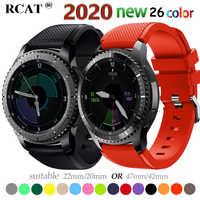 20 22mm reloj banda para Samsung Galaxy ver 46mm 42mm activo 2 DE S3 frontera Correa huawei watch GT 2 Correa amazfit bip 47 44