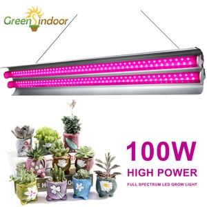 Image 1 - Lampe horticole horticole de culture intérieure, 100/LED W, spectre complet, éclairage pour culture intérieure, plantes, graines/floraison