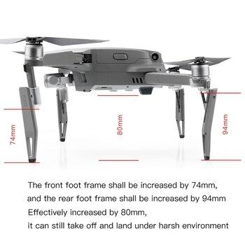 Heighten Landing Gear Gimbal Shock Absorber Leg for Dji Mavic 2 Zoom Pro Drone Accessories 4