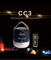 SUNREI CC3 Rechargeable Outdoors Camp Lamp Emergency Lamp Portable Waterproof Climbing LED Lantern Solar USB 9900mAh Battery