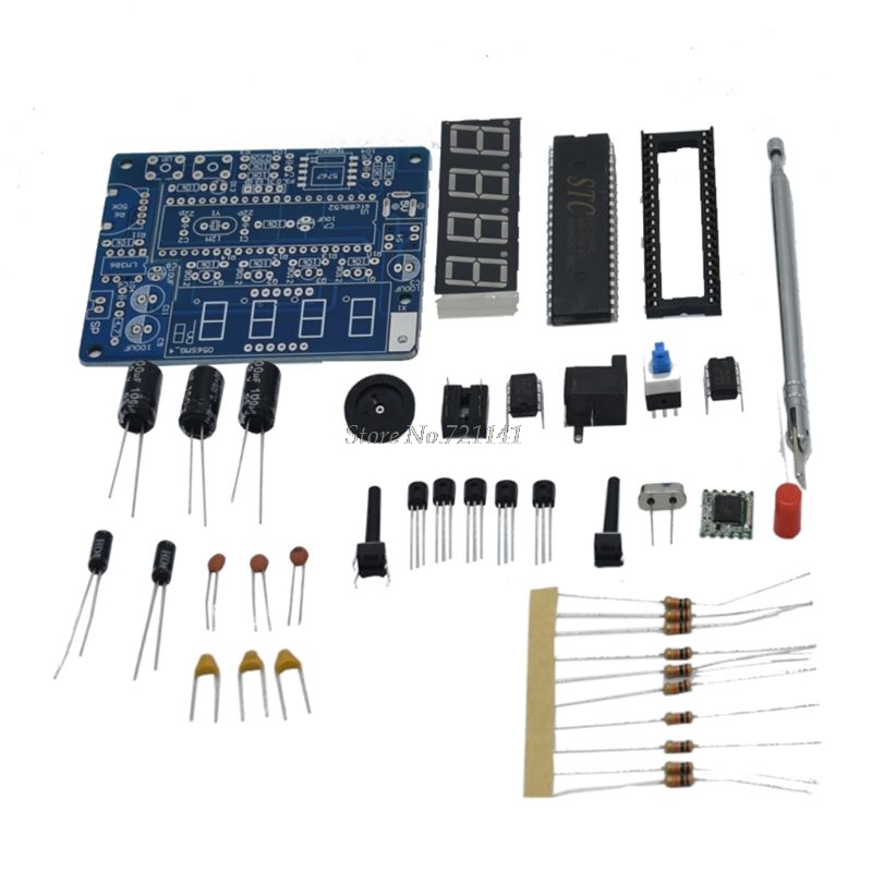 Mini Digital FM Radio 87MHZ-108MHZ 2W 8ohm Speaker Electronics Kit Compatible Kits &DIY Kits  Whosale&Dropship