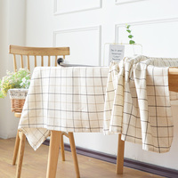 Plaid tablecloth small cover cloth in northern Europe simple coffee table cloth tablecloth small cover cloth