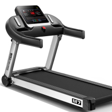 HD экран электрическая беговая дорожка с подлокотниками для похудения машина для дома в помещении Mp3 упражнения Бег Фитнес оборудование Спорт