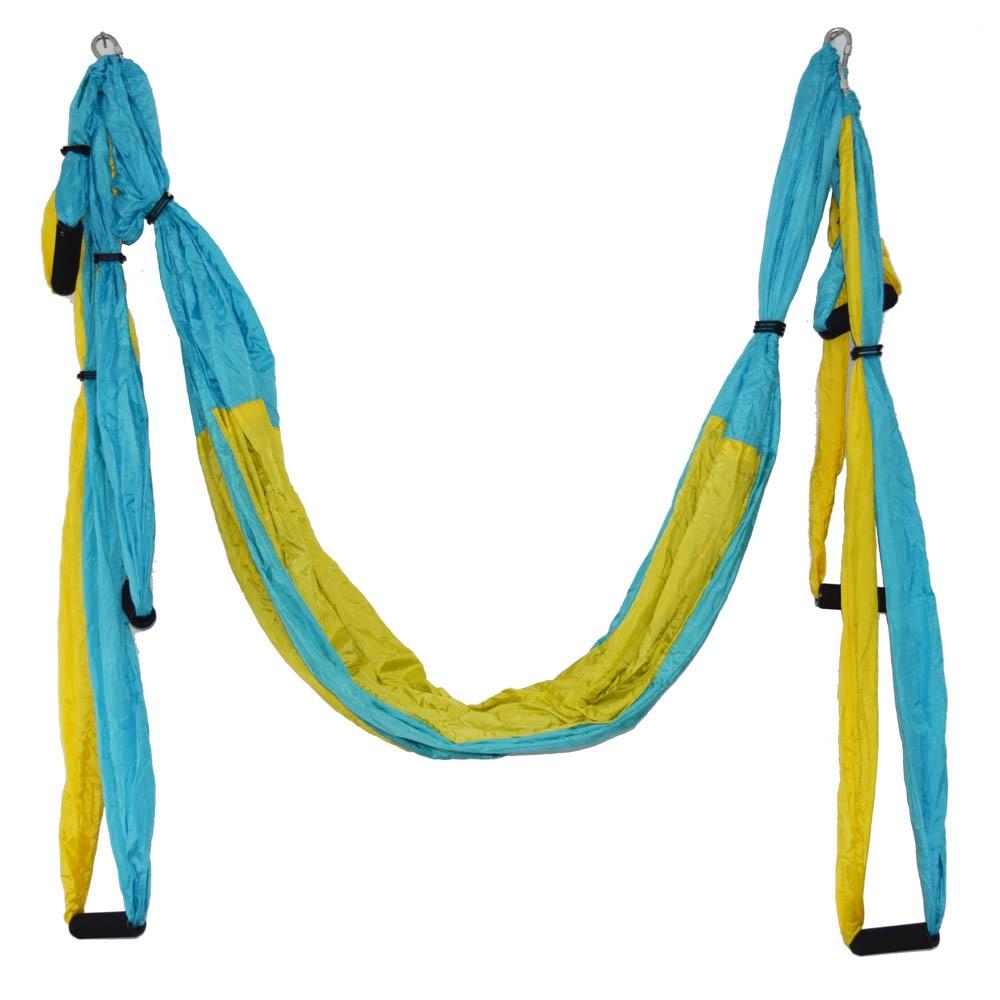 Strength Decompression Yoga Hammock Inversion Trapeze Anti-Gravity Aerial Traction Gym Strap Yoga Swing Set Body