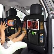 Новое поступление, удобный органайзер на заднюю часть сиденья автомобиля, мульти-карман, сумка для хранения, чехол, сумка для хранения в автомобиле, держатель для планшета Сумка для хранения заднего сиденья автомобиля