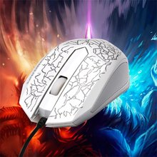 3200DPI LED Optical 3 Buttons 3D USB Wired Gaming Game Mouse Pro Gamer Computer Mice For PC Adjustable USB Wired Gaming Mouse