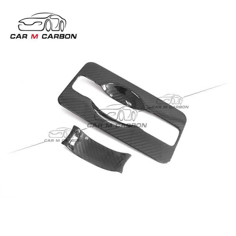 Nouveau w464 couverture intérieure de porte arrière pour 2019y g classe g500 g55 g63 couverture de poignée de porte en carbone