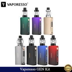 Original Vaporesso GEN Kit 220W GEN Box Mod and 8ml SKRR S Tank Fit QF Coil Vape 18650 Batteries Electronic Cigarette Vaporizer