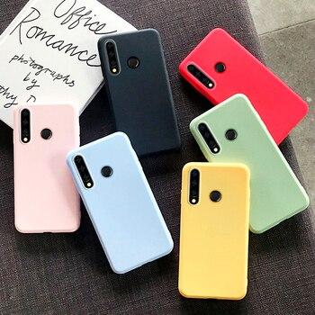 Перейти на Алиэкспресс и купить Чехол для Huawei P30 Lite 9S P20 Pro P40 Honor 9A 20 9 9X 10i Mate 10 8A 8S 9C 20S E, Ультратонкий Мягкий силиконовый чехол из ТПУ