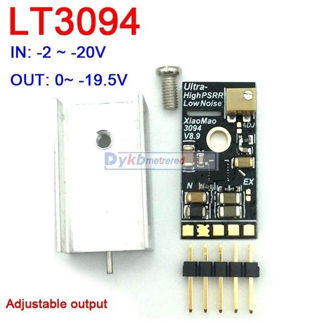 LT3045 1 LT3094 ต่ำเสียงรบกวน RF Linear แรงดันไฟฟ้า ADC Audio DAC ถอดรหัสโมดูลแหล่งจ่ายไฟ 3V 3.3V 5V 6V 12V 15V 1A