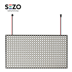 576 pixel WS2812B Mini 2020 RGB Matrix Panel Bildschirm 18x32 High-Dichte Digital Einzeln Adressierbaren Full Traum farbe DC5V