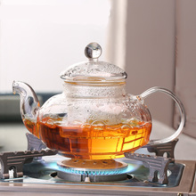 High Boron Silicon Filter Heat Resistant Glass Teapot Set Thick Tea Pot Temperature Plus Hot Kettle A