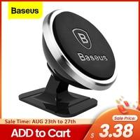 Baseus-soporte magnético de teléfono móvil para coche, montaje Universal para iPhone y Samsung