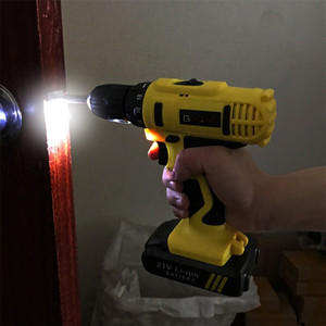Image 5 - GOXAWEE 21V/12V Electric Screwdriver Cordless With Lithium Batteries Rechargeable Mini Drill 2 Speed Wireless Power Tool