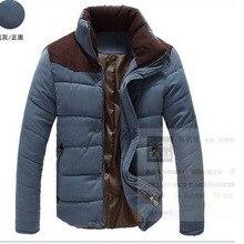 Мужское толстое хлопковое пальто han ban персиковая кожа мужское хлопковое зимнее повседневное пальто