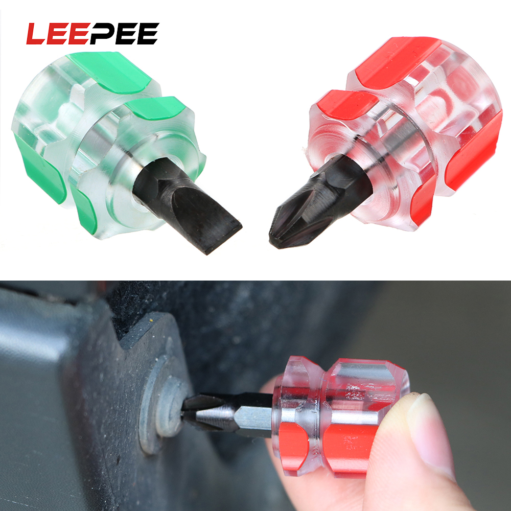 LEEPEE Mini Car Fender Repair Tools Slotted Screwdriver Phillips Screwdriver Car Repair Hand Tools Removal Tools