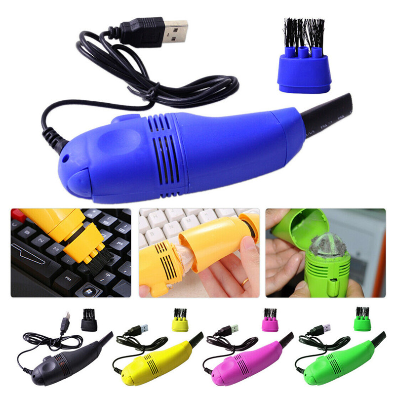 Mini Turbo USB Hoover/Vacuum Cleaner Clean For Laptop PC Computer Keyboard