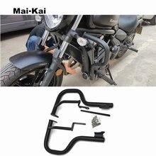 MAIKAI For KAWASAKI VN650 Vulcan S 650 EN650 2015-2018 Motorcycle CNC Engine Protector Guard Crash Bar Bumpers