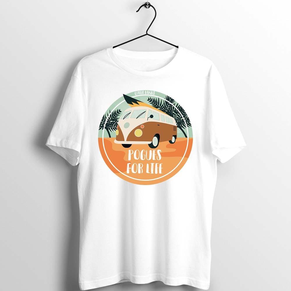 Unisex Men Women T Shirt Outer Banks Pogue Life Cartoon Custom Basic O-Neck Basic Loose Leisure Artwork Printed Tee Clothing