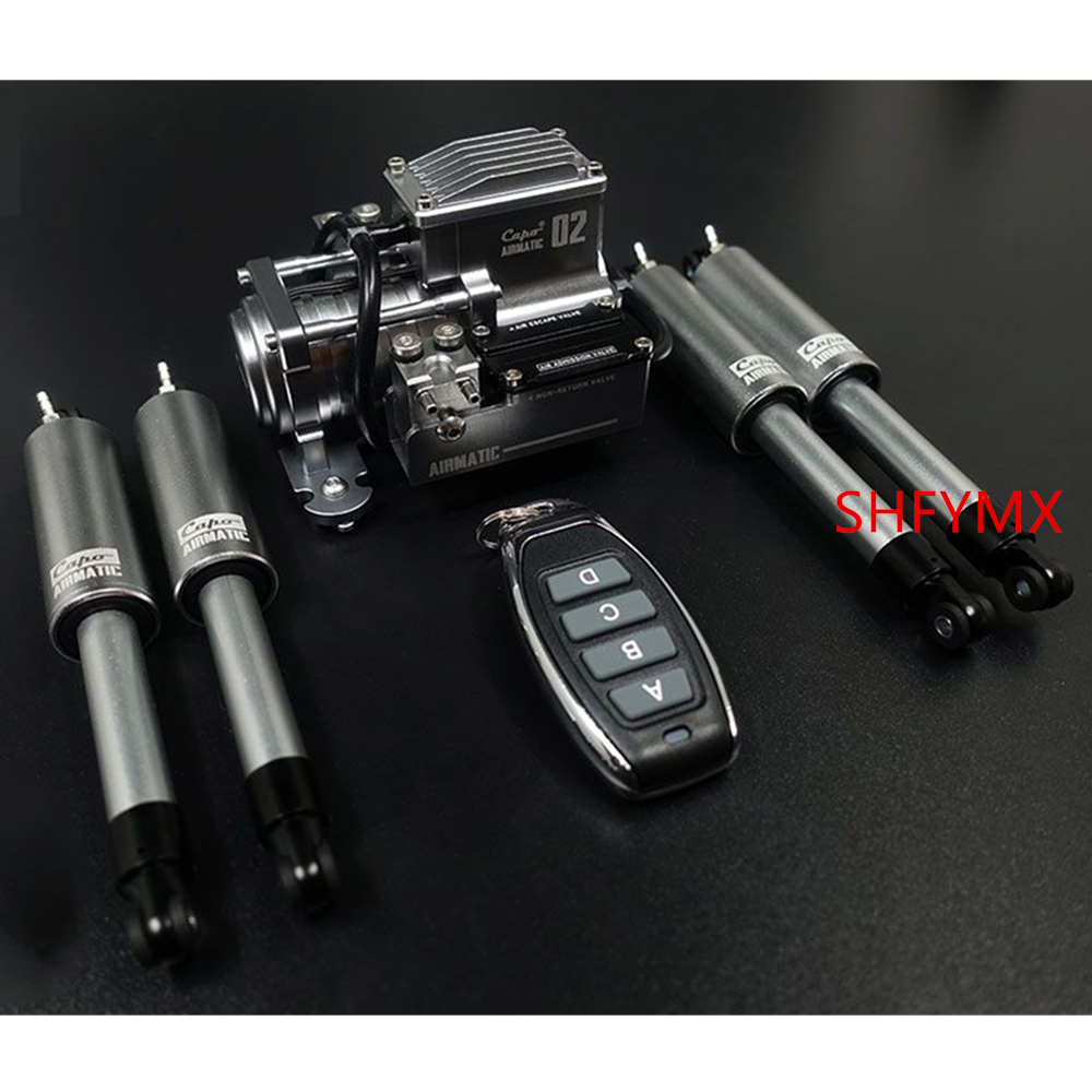 Capo Jkmax Rc Car Pneumatic Suspension Remote Control Adjustable Shock Absorbers Airmatic
