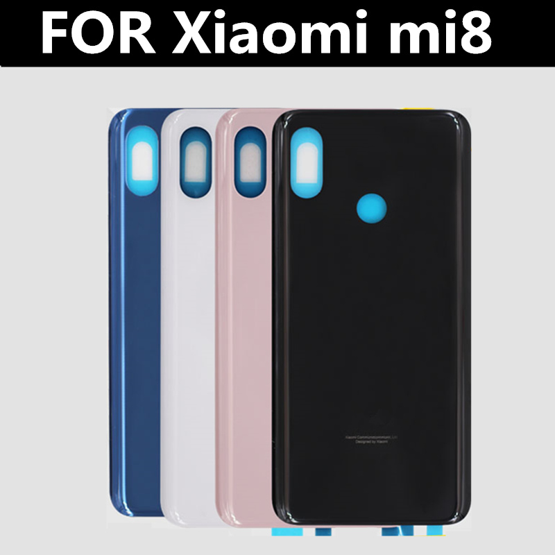 FOR <font><b>XIAOMI</b></font> <font><b>MI</b></font> <font><b>8</b></font> MI8 <font><b>Battery</b></font> Back <font><b>Cover</b></font> Rear Door Housing for <font><b>Xiaomi</b></font> MI8 Housing Replacement Repair image