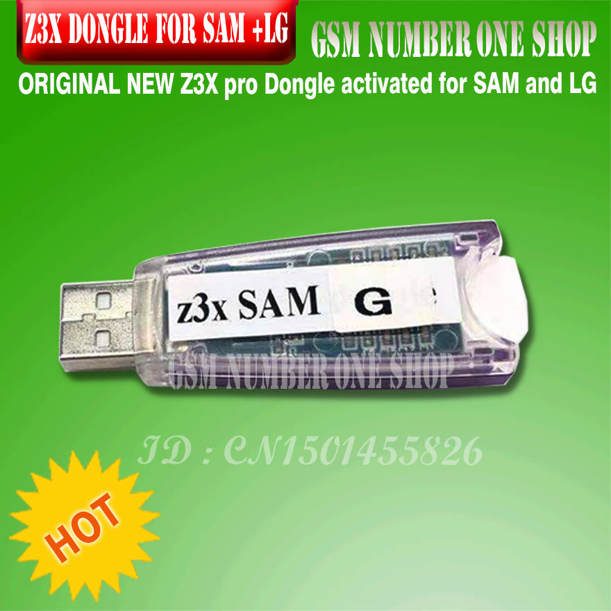 2019 Original New Z3X SAM G Dongle Z3X Pro Set Dongle Activated For SAMSUNG + For LG