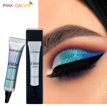 HANDAIYAN long-lasting Glitter Makeup Primer Sequined Primer Eye Makeup Cream Waterproof Sequin Glitter Eyeshadow Glue