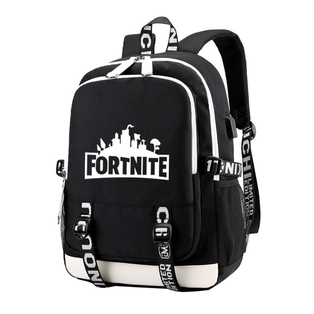Men Letter Printed Laptop <font><b>Backpack</b></font> Female Nylon Travel Schoolbag Casual Rucksack Student School Bags for Teenage Boys <font><b>BackPacks</b></font> image