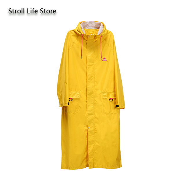 Long Windbreaker Women Raincoat Jackets Outdoor Hiking Yellow Rain Coat Poncho Waterproof Suit Couple Raincoats Impermeable Gift 4