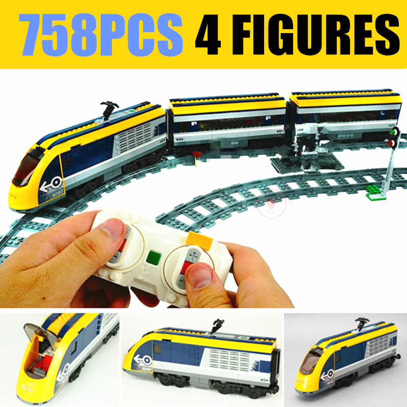 New Motor Power Up Functions RC Train Station Fit Technic Train Track City Figures Building Blocks Bricks Toy Gift Kid Birthday in Blocks from Toys Hobbies