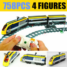 New Motor Power Up Functions RC Train Station Fit Technic Train Track City Figures Building Blocks Bricks Toy Gift Kid Birthday new city series the cargo train set city train fit legoings city technic train car building blocks bricks toy 60198 diy kid gift