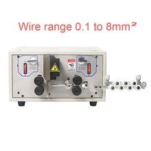 SWT 508E Ordinateur De Bureau machine à dénuder automatique et coupe de fil machine à éplucher pour câble de 0.1 à 8mm2