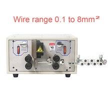 SWT 508E masaüstü bilgisayar otomatik tel sıyırma makinesi ve tel kesme soyma makinesi kablo 0.1 8mm2