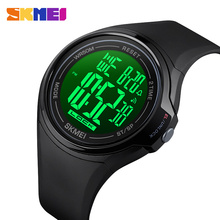 SKMEI Sport Digital Men Watches Science Fiction Style Touch Screen Operation Waterproof LED Light Alarm Clock montre homme 1602