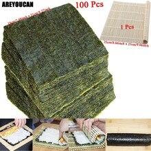 50-100 шт нори морские водоросли для суши сушеные Лавер морские водоросли нори для суши набор высокое качество морские водоросли Нори Суши