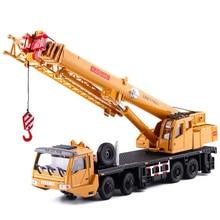 1:55 Mega Lifter литая модель из сплава с 4 передним колесом, рулевая тяга, вращающаяся на 360 градусов, Рабочая платформа, кран, подарки для детей