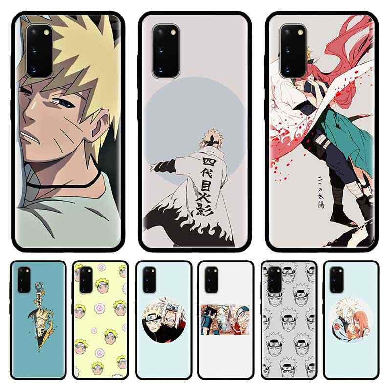Comic Naruto Case For Samsung Galaxy S10 S20 Ultra S9 S8 Plus S7 Note 20 9 10 Lite Tpu Mobile Phone Shell Coque