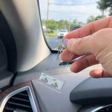 2 шт. автомобиля парковочных билетов держатель зажим Стикеры для Mazda Demio 2 3 5 6 M2 M3 M5 M6 CX-5 CX-7 CX-9 RX-8 MX5 MPV Субару Outback