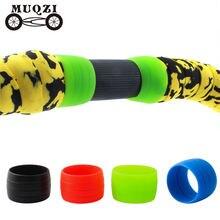 1 пара велосипедных ремней muqzi клейкая лента для руля велосипеда