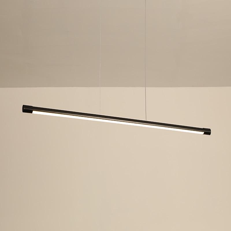 Moderno led pingente luzes para sala de jantar sala estar suspensão luminária cabo pendurado lâmpada pingente de alumínio para cozinha escritório - 4