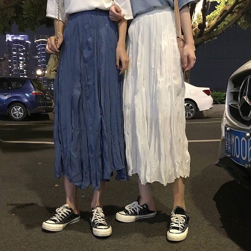 Photo Shoot Net Price Wrinkled Skirt Skirt Students Medium-length Pleated Slimming Pleated Skirt Children 286 #