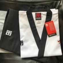 MOOTO taekwondo Poomsae Senior Dan dobok Männlichen & Weibliche MOOTO poomsae doboks Männer & Frauen 150CM 190CM, 200CM