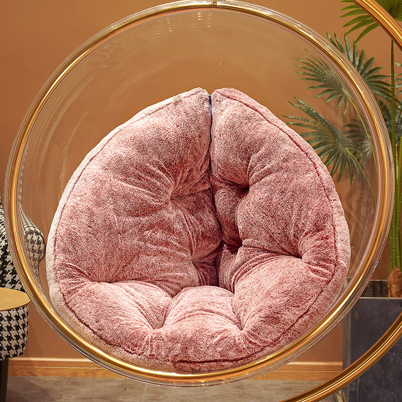 Hanging Basket Glider Cushion Backrest Integrated Cradle Rattan Chair Cushion Easy Chair Bedroom Seat Floor Butt Seat Pads