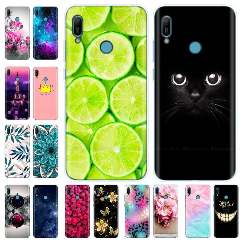 Y6 2019 Silicone Case For Huawei Y6 2019 Cover Y6 2018 ATU-L21 Case For Huawei Y6 Prime 2019 Case Cover For Y6 2018 Y 6 Prime