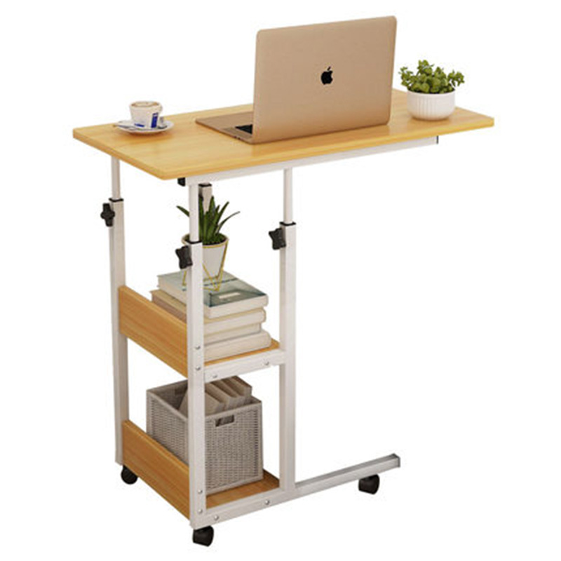 Household Movable Bedside Table Sofa Lifting Table Folding Desk Notebook Computer Table